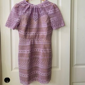 Lavender lace dress 👗